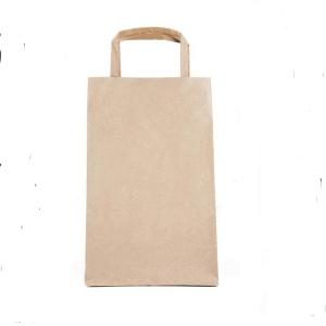 手提直筒型热封口纸袋