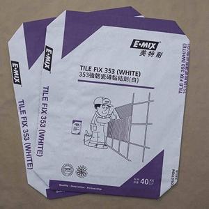 瓷砖粘结剂阀口包装纸袋